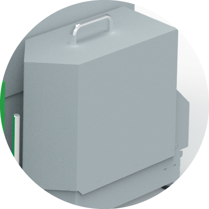 Komfort - Aschebox
