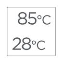 Temperatura caldaia modulante