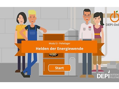 "E-Learning: Modul ""Pelletlager"