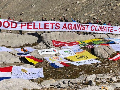 "Action ""Wood Pellets against climate change"""